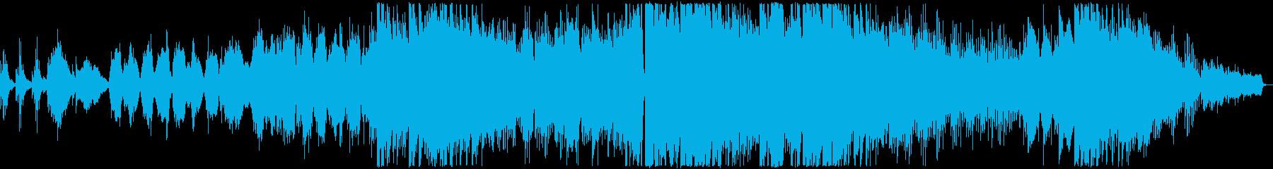 ピアノが印象的な寂しい雰囲気のバラード3の再生済みの波形