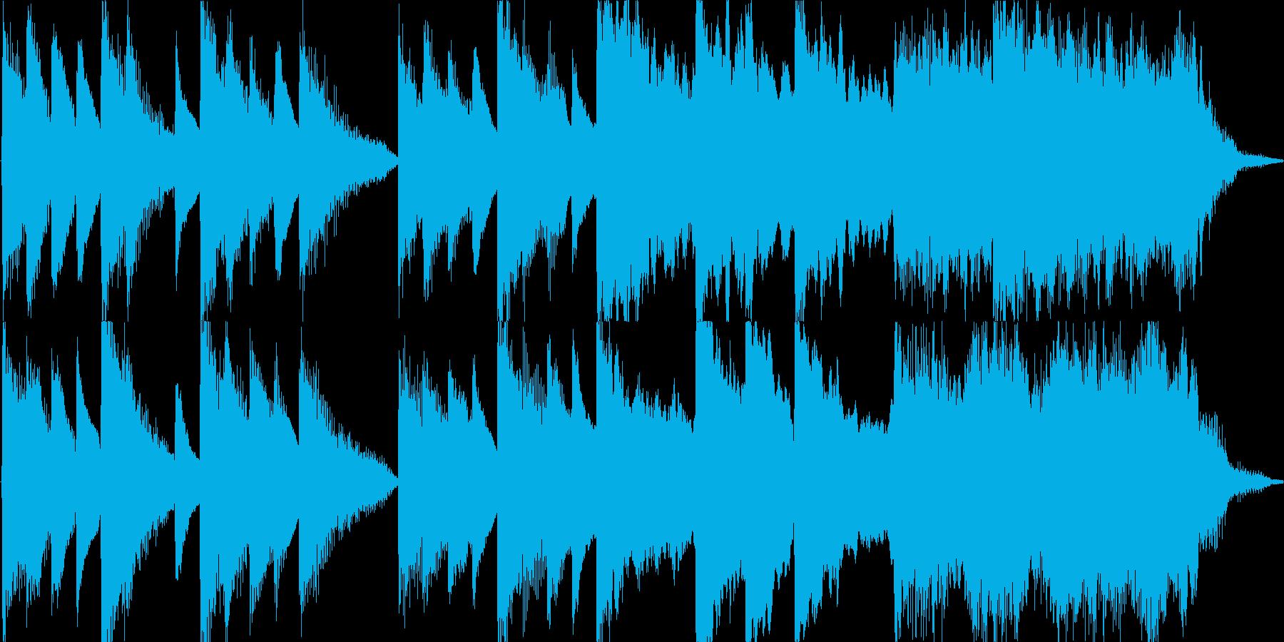 消臭力のコマーシャルを連想して作りまし…の再生済みの波形