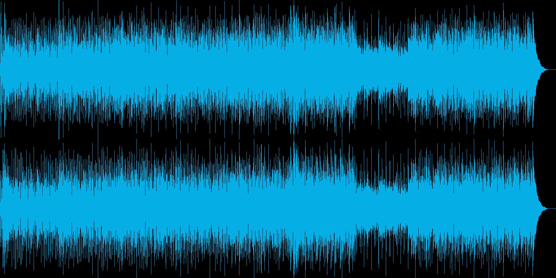軽快、さわやか、自然、いきいき、ほのぼのの再生済みの波形