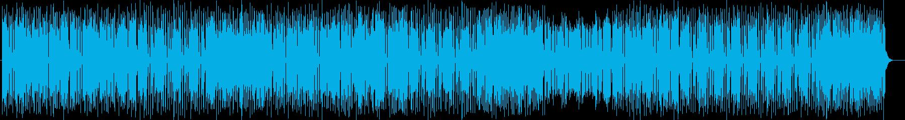 かわいらしくコミカルなミュージックの再生済みの波形