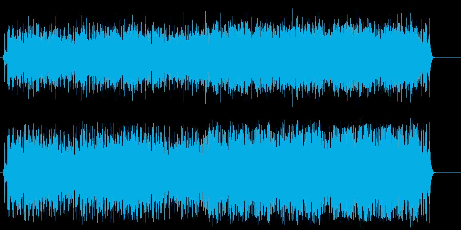 懐かしいソウル風ポップスの再生済みの波形