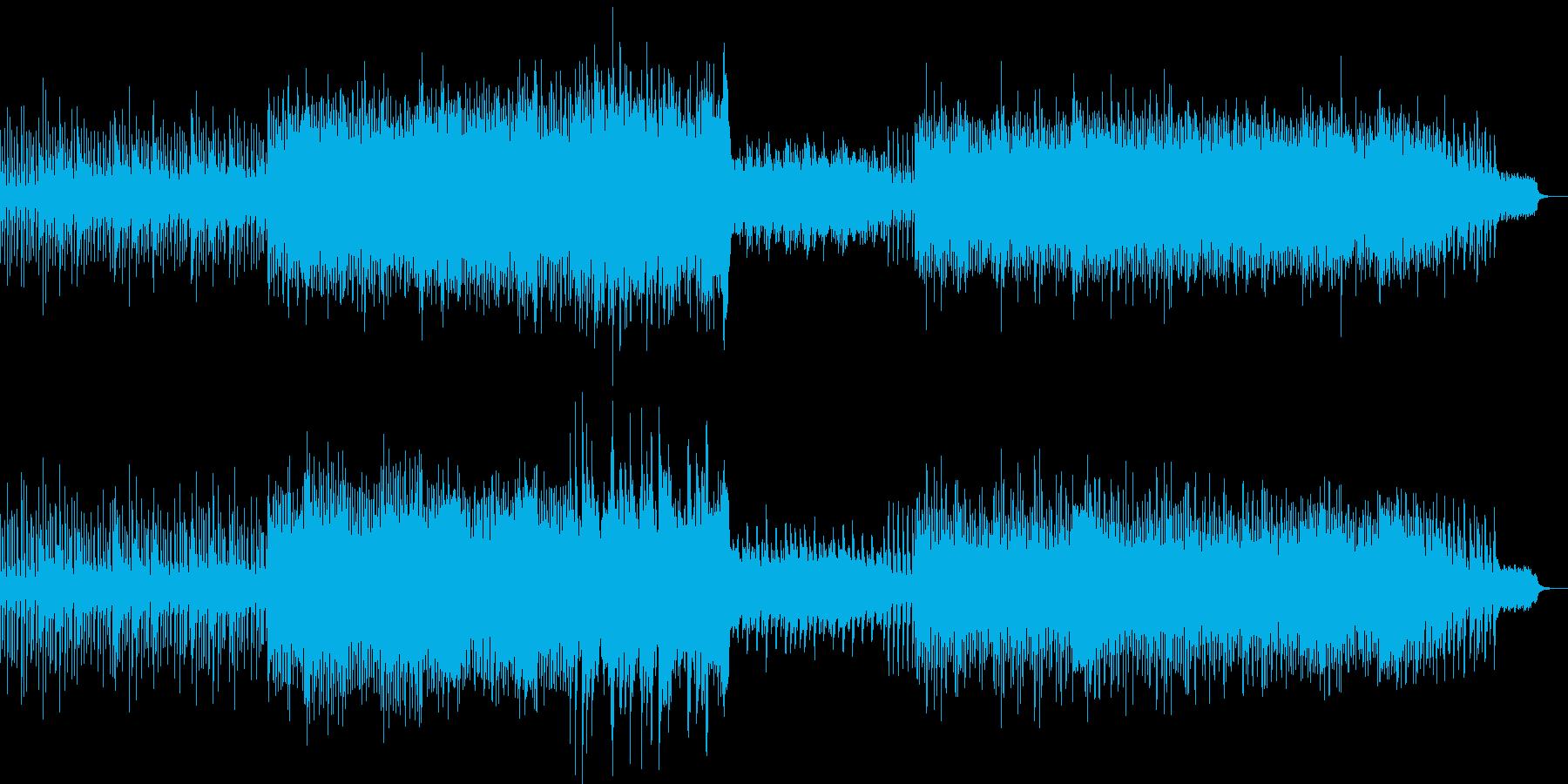 爽やかなピアノとストリングスの再生済みの波形