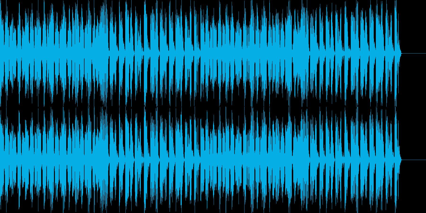番組、イベント等の待機や説明時にの再生済みの波形