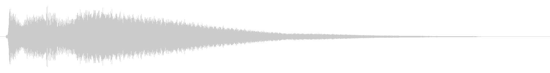 キラーン(キラキラ系)の未再生の波形