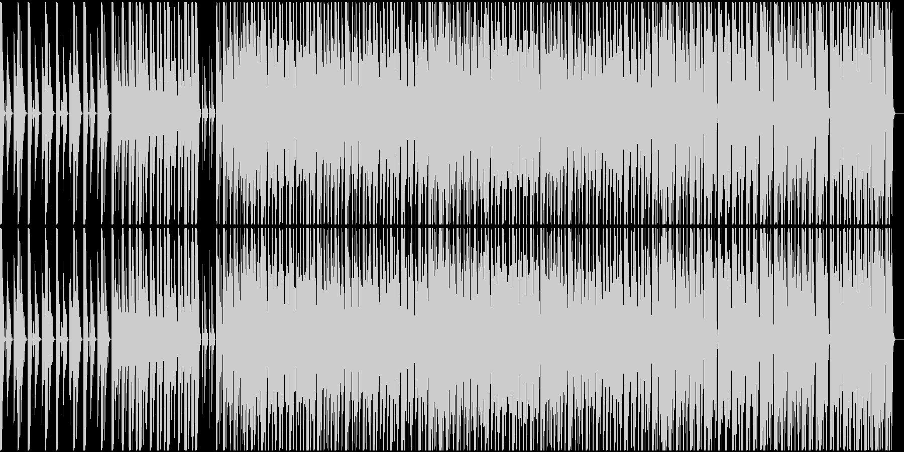 3xoscシンセのみで作曲したテクノの未再生の波形