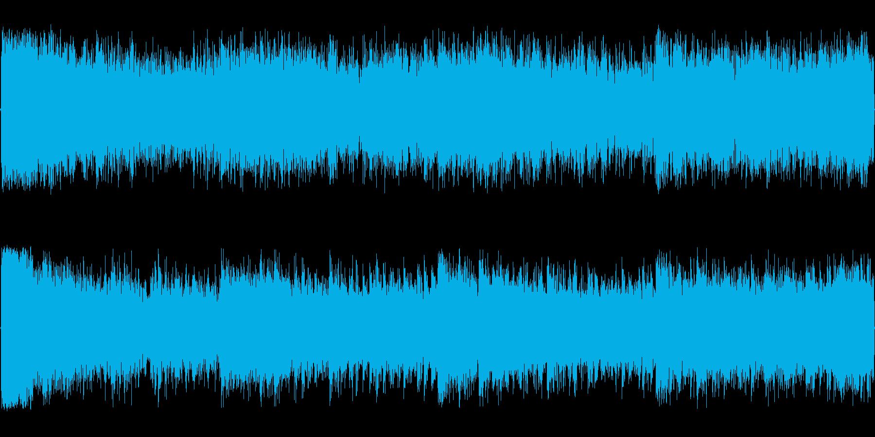 緊迫感のあるオーケストラ編成最終ダンジ…の再生済みの波形