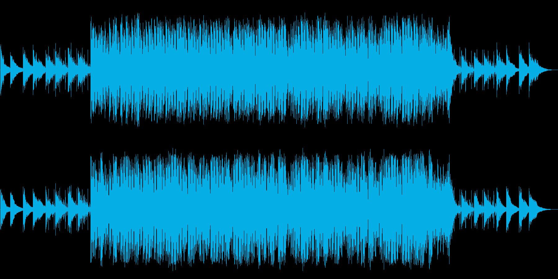 ノリのいい楽しくなるサウンドの再生済みの波形