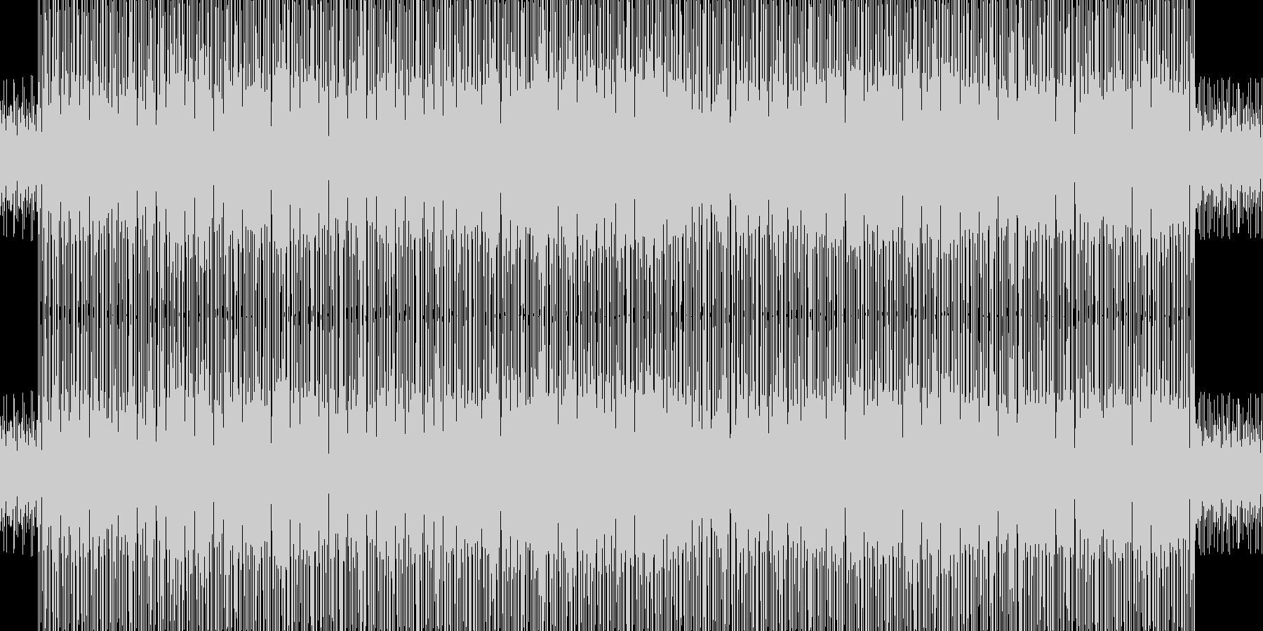 ドラム アコースティックベース、ローズ…の未再生の波形
