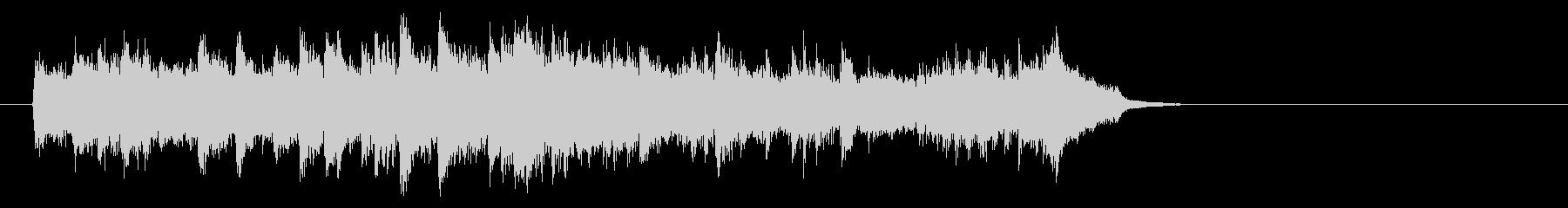 感動のピアノ・バラード(イントロ)の未再生の波形