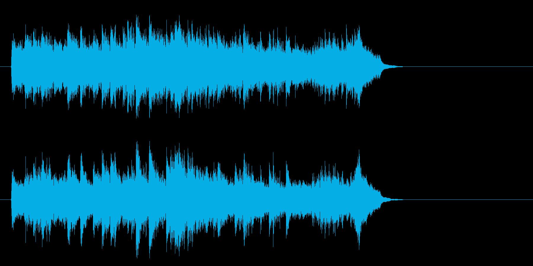 感動のピアノ・バラード(イントロ)の再生済みの波形
