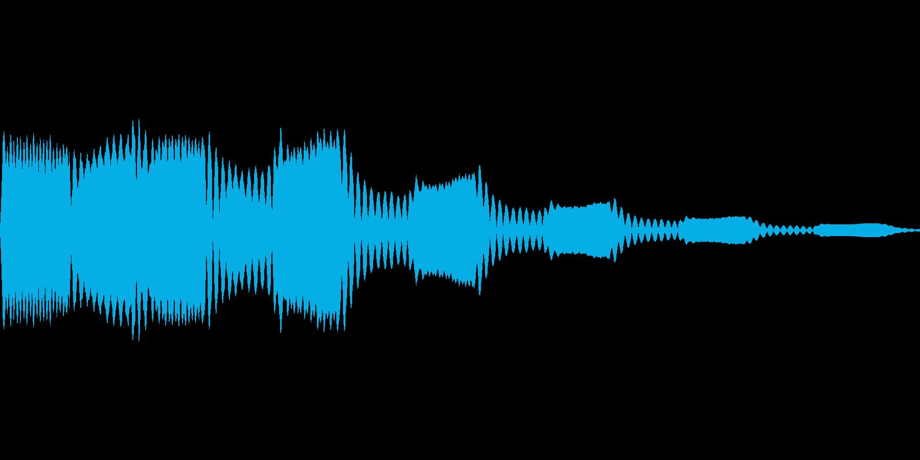 ホワホワ(妖精が舞う 着信)の再生済みの波形