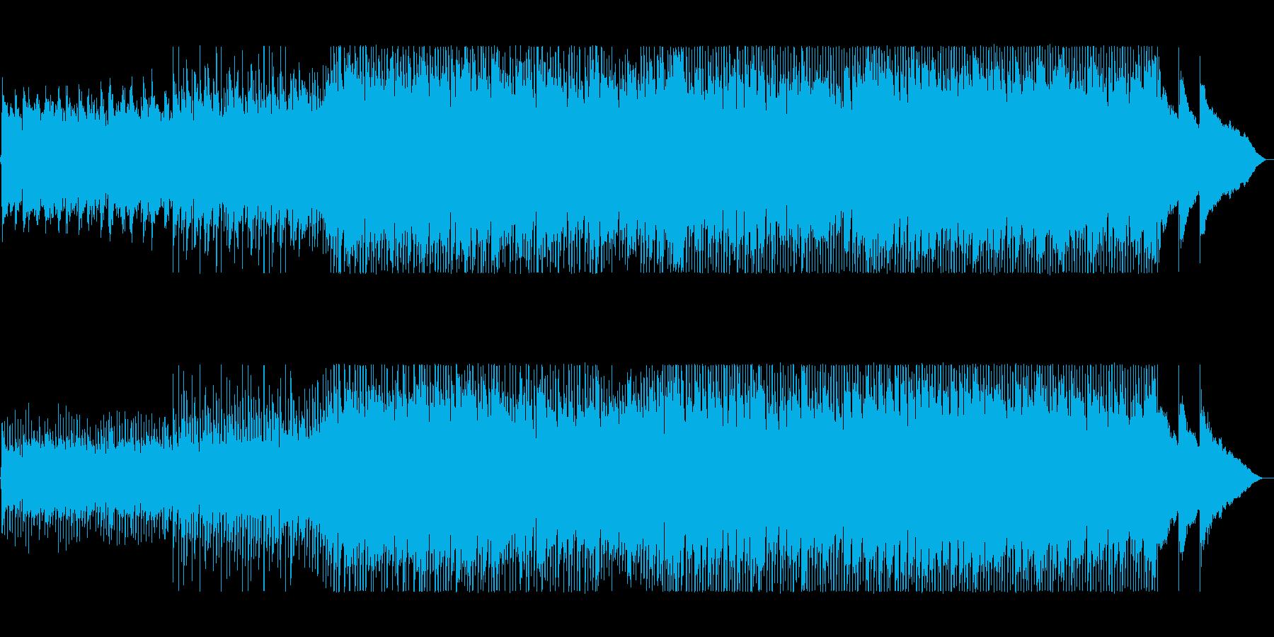 始まりを連想させるロックバラードの再生済みの波形