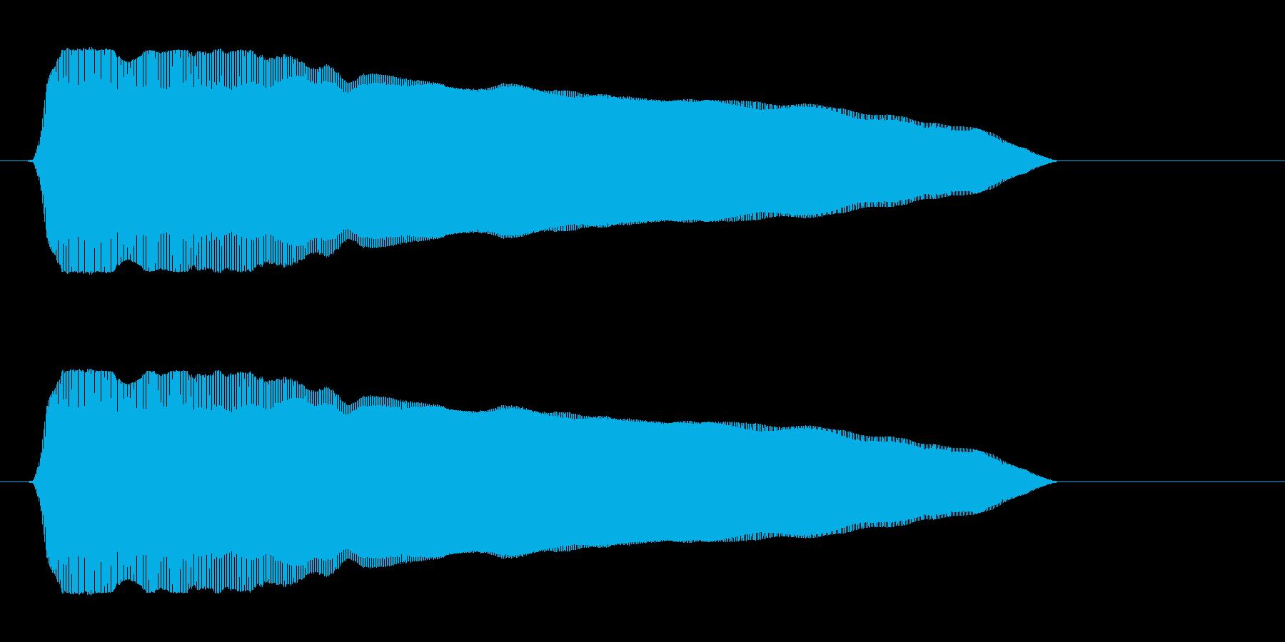 フゥー!の再生済みの波形