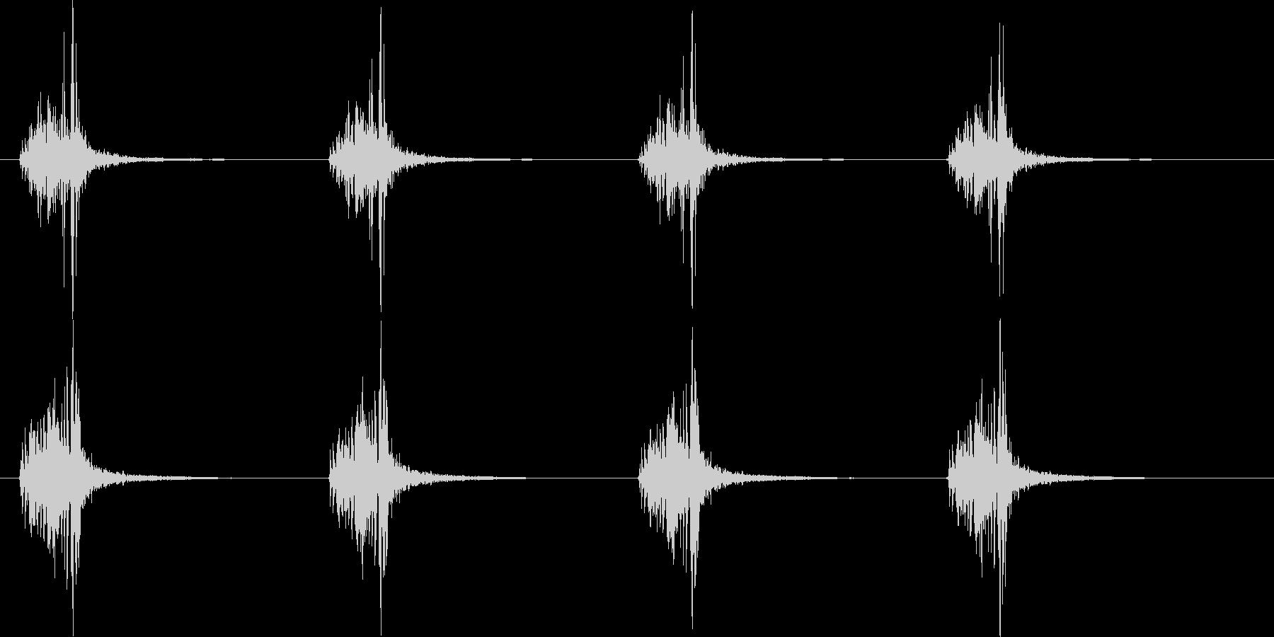 【手拍子】チャっチャっ(4分打ち)の未再生の波形