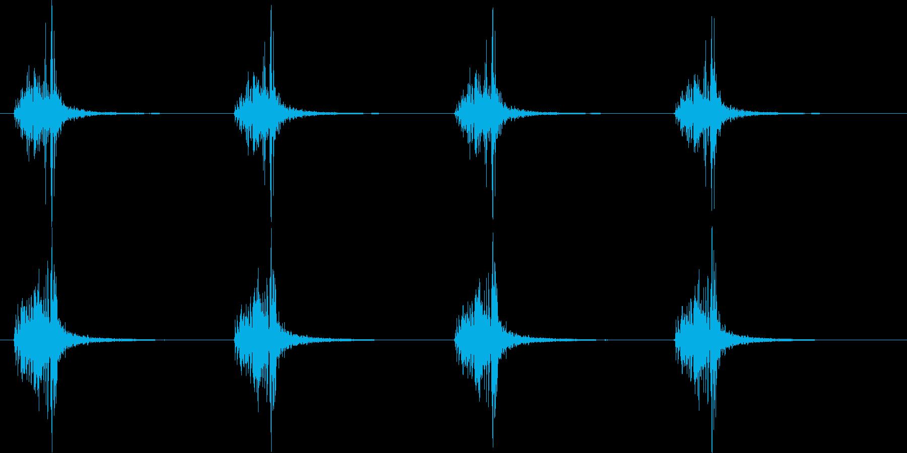 【手拍子】チャっチャっ(4分打ち)の再生済みの波形