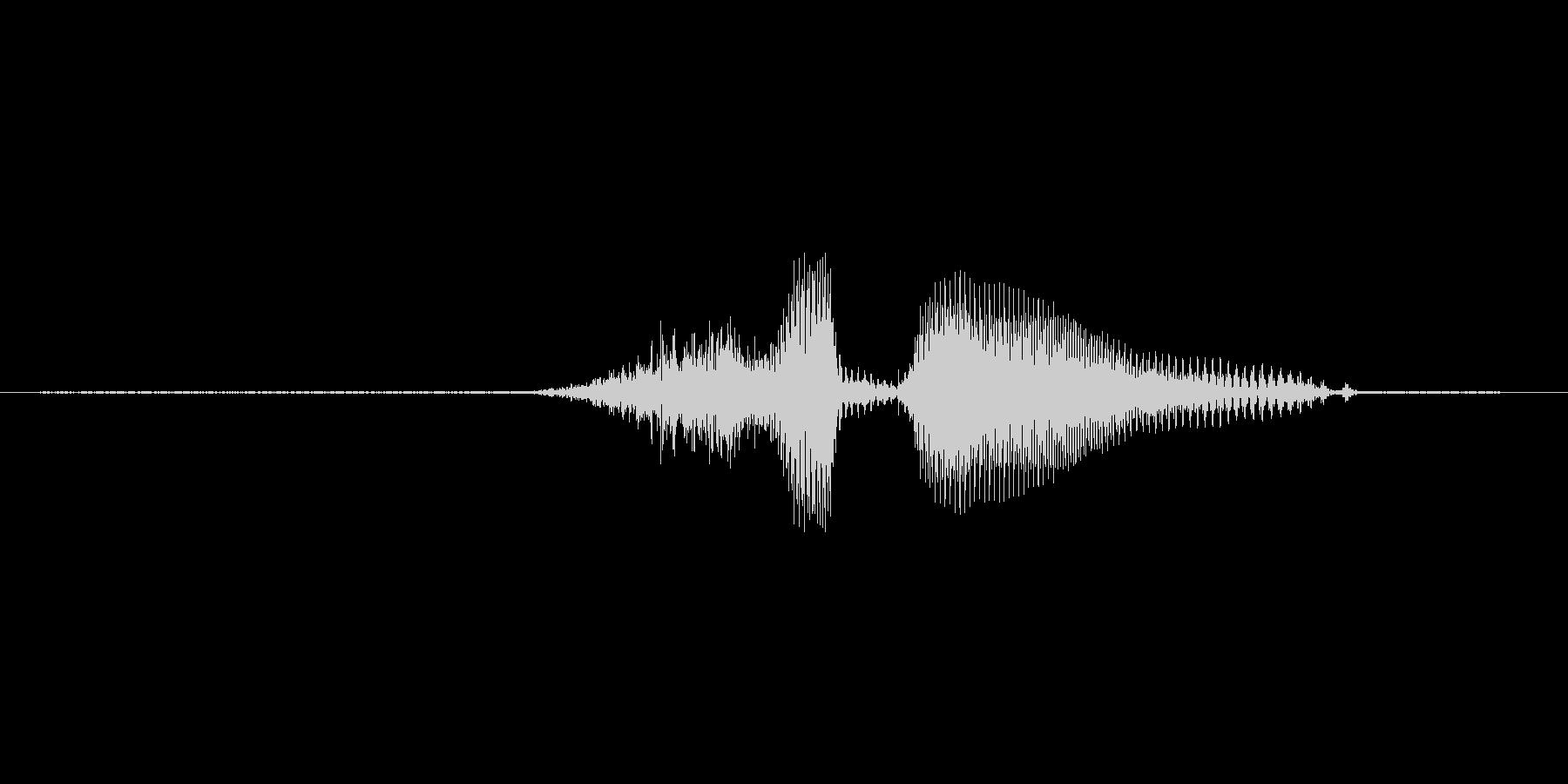 3(すりー)の未再生の波形
