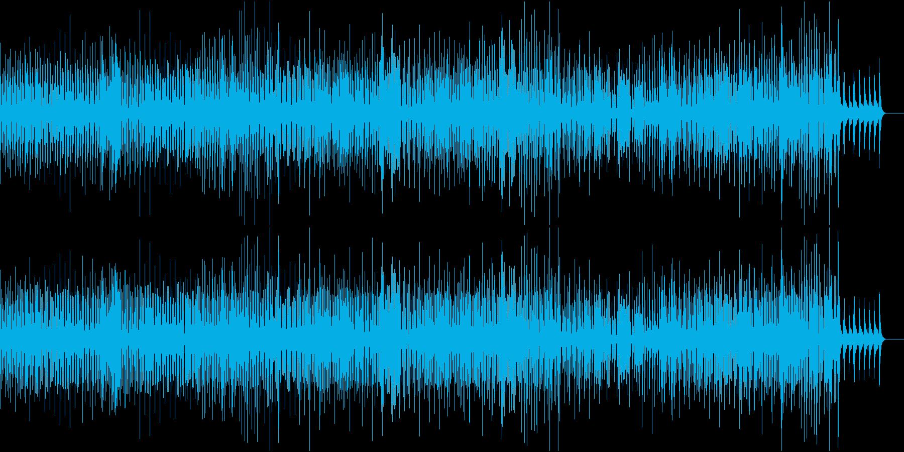 穏やかでスタイリッシュなジャズの再生済みの波形