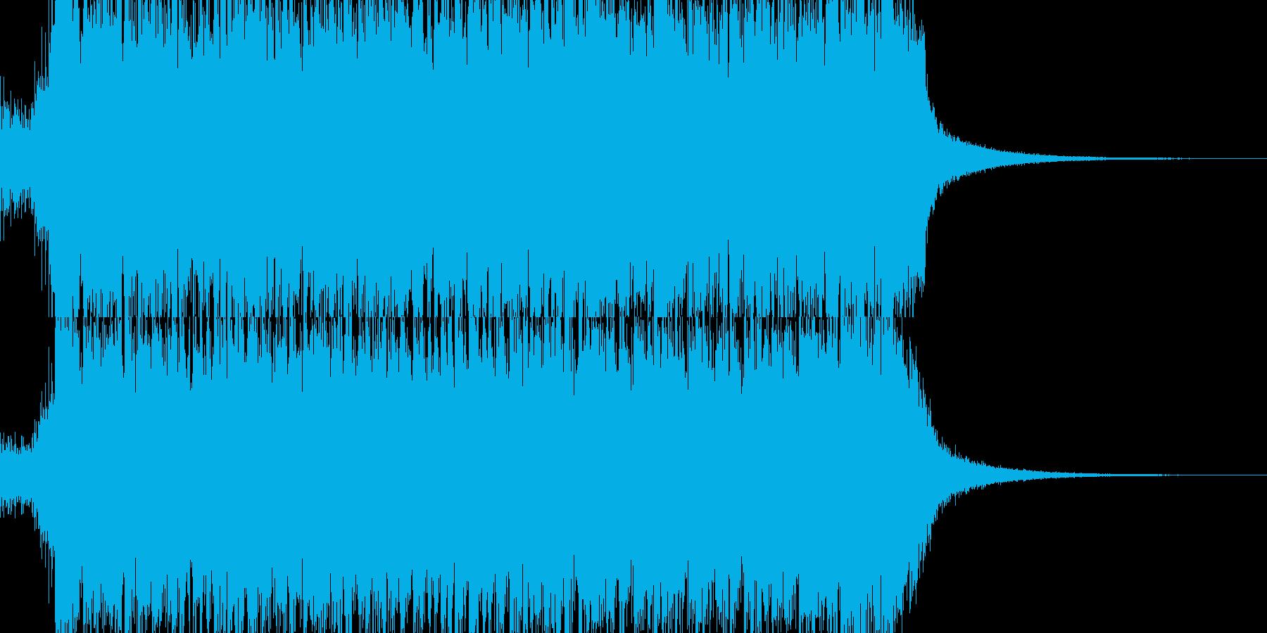 交響曲第9 コーラス トランス 01J2の再生済みの波形