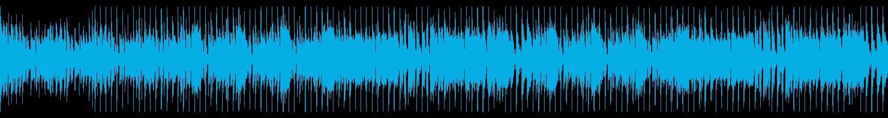 元気なブラスのディスコファンク/ループ可の再生済みの波形