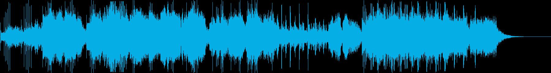 お正月!_宮城道雄の「春の海」・シンセ編の再生済みの波形