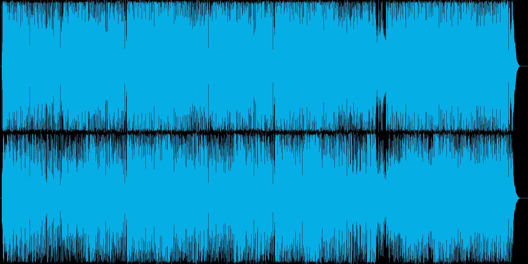 爽やかで疾走感のあるアコギのBGM1の再生済みの波形