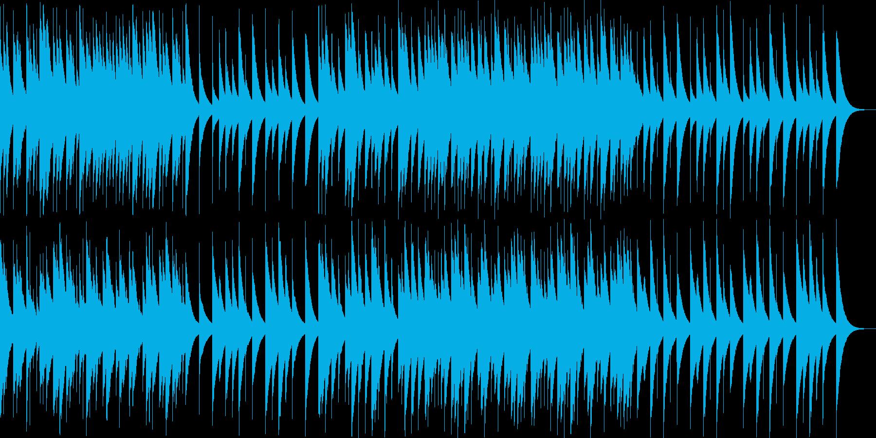 切なくも優しいオルゴールの再生済みの波形
