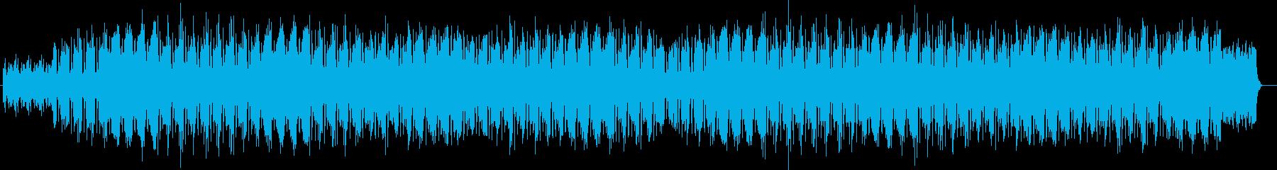 緊迫感のあるエレクトロの再生済みの波形