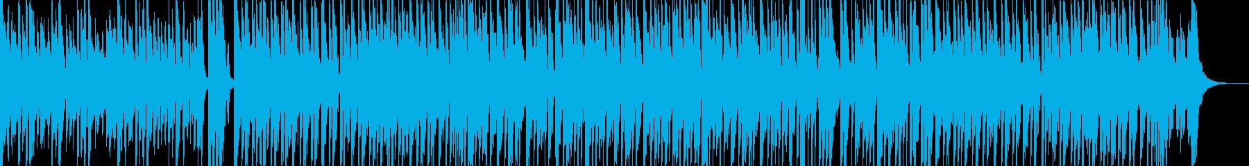 子供用のいたずら好きな雰囲気のBGMの再生済みの波形