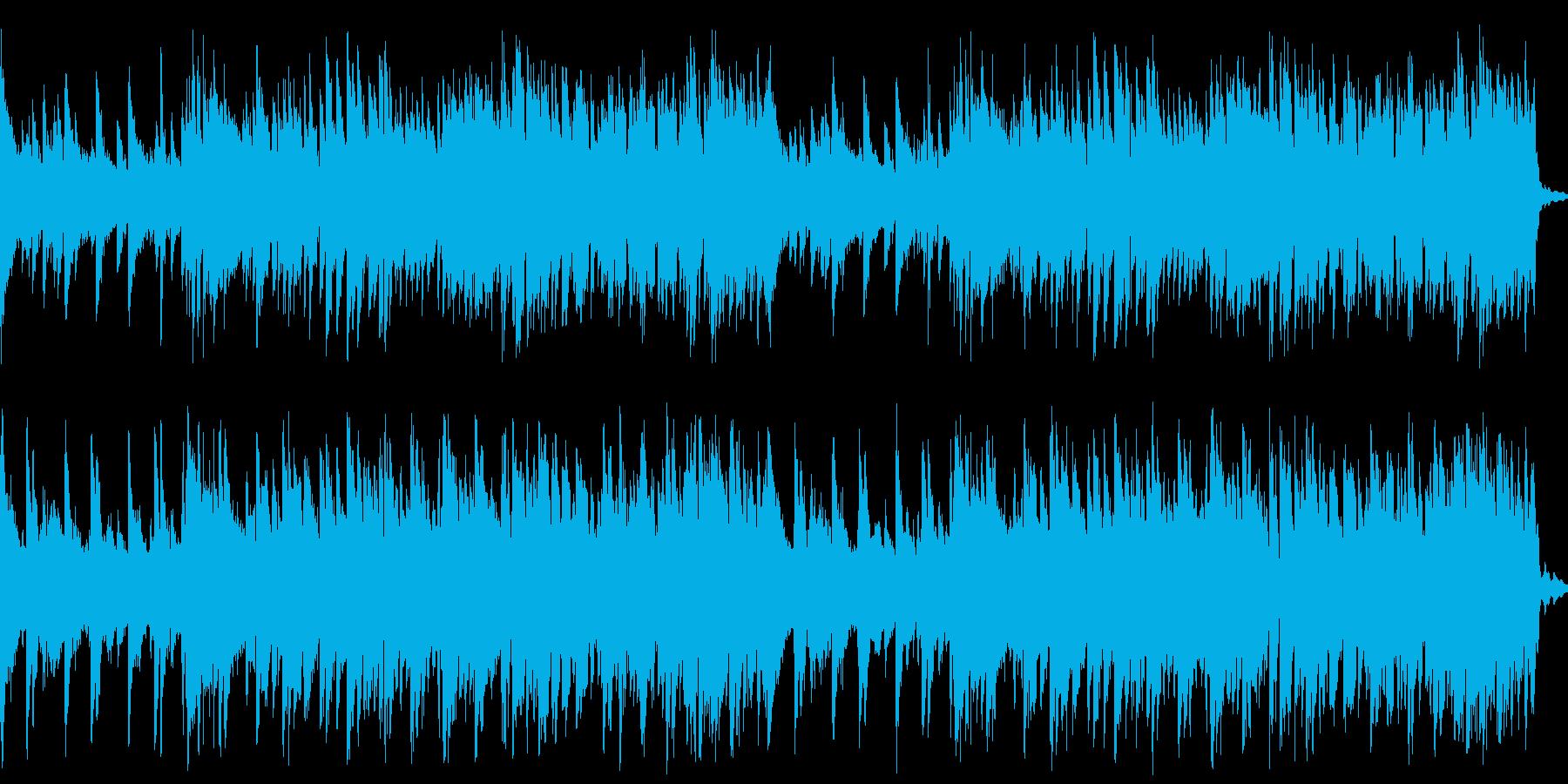 BARでバンドが演奏しているようなBGMの再生済みの波形