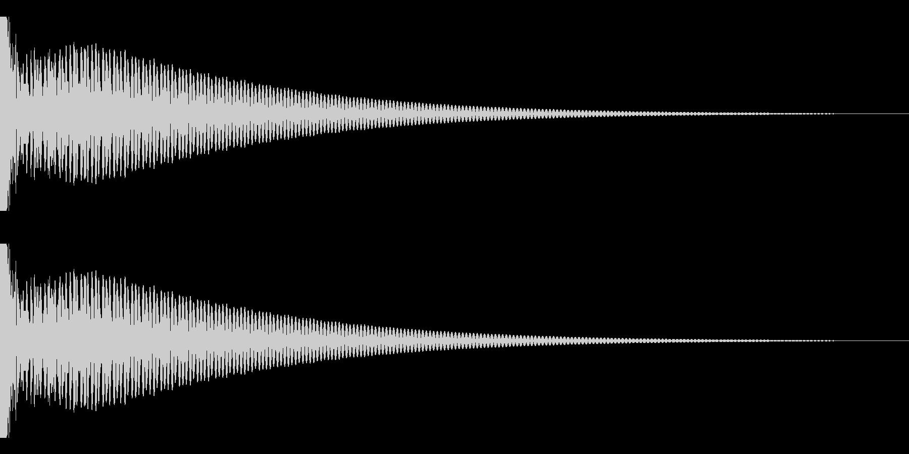 DTM Tom 21 オリジナル音源の未再生の波形