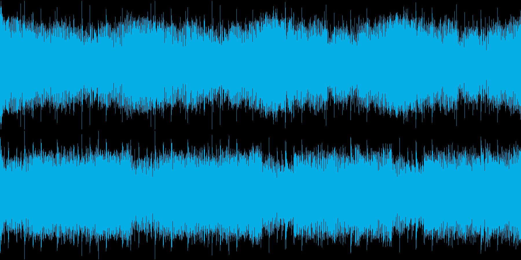 緊迫 ミニゲーム ループの再生済みの波形