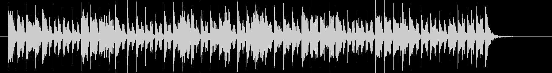 アーバンな1980年代風ピアノ・ソウルの未再生の波形