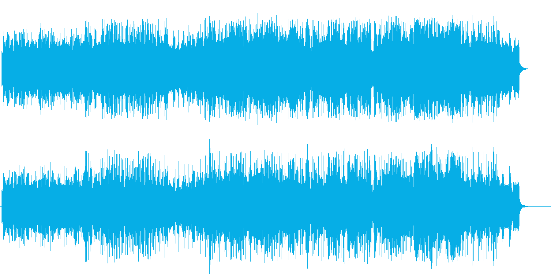 緊迫感のあるテクノ/アンダーグランドの再生済みの波形