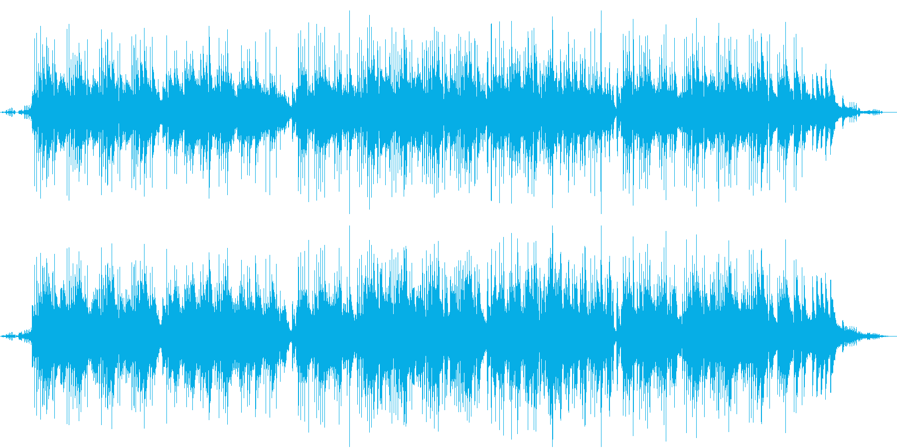 環境音 鳥 爽やか 癒し系 映像用の再生済みの波形