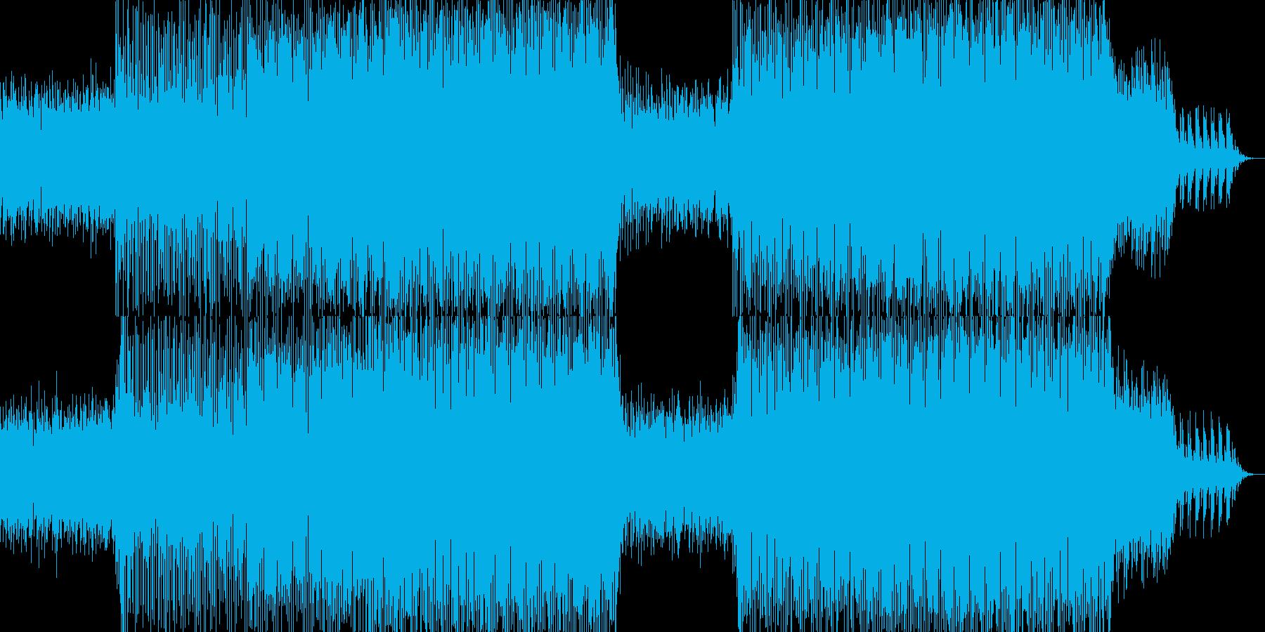 エイトビートのエレクトロ-02の再生済みの波形