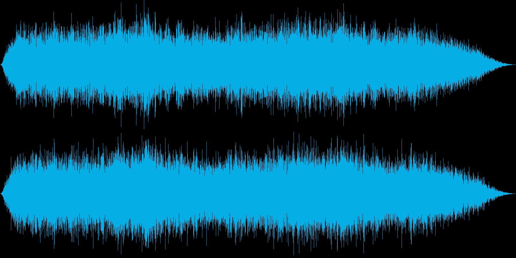 機械音の響く工場の再生済みの波形