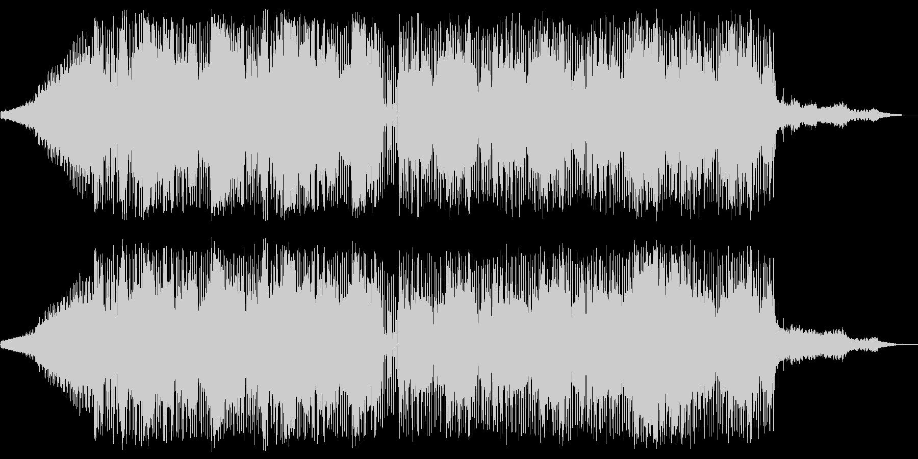 ビート主体のチル系の未再生の波形