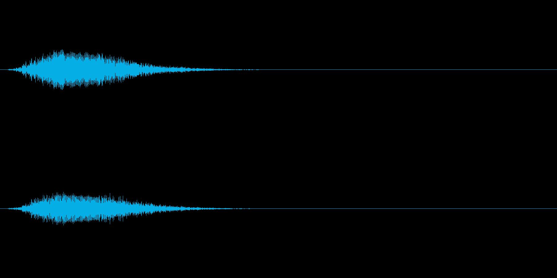 ウィーン:コックピットのドアが開く音の再生済みの波形