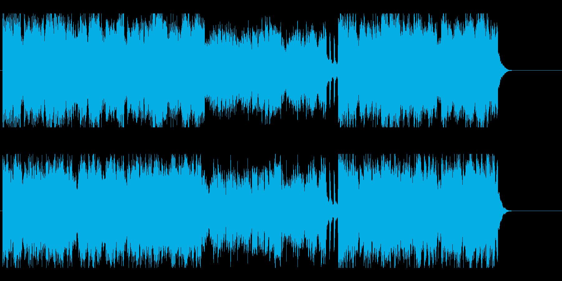 かわいい メルヘン 子供 ほのぼのの再生済みの波形