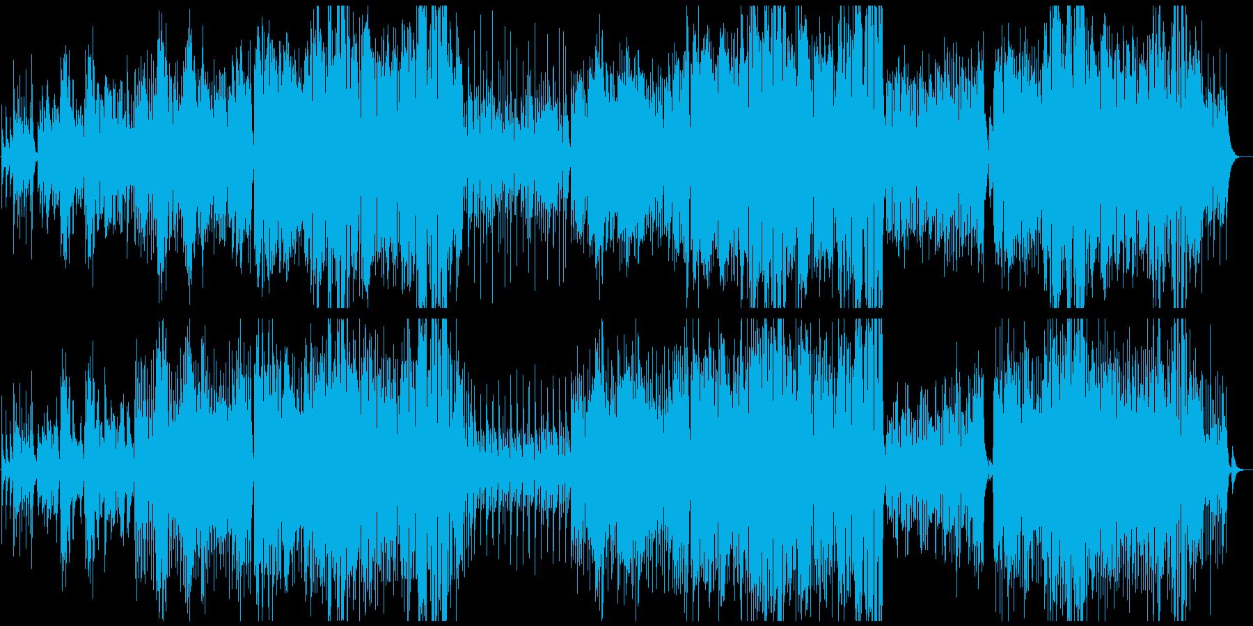 民族楽器を使ったメロディアスな哀愁曲の再生済みの波形