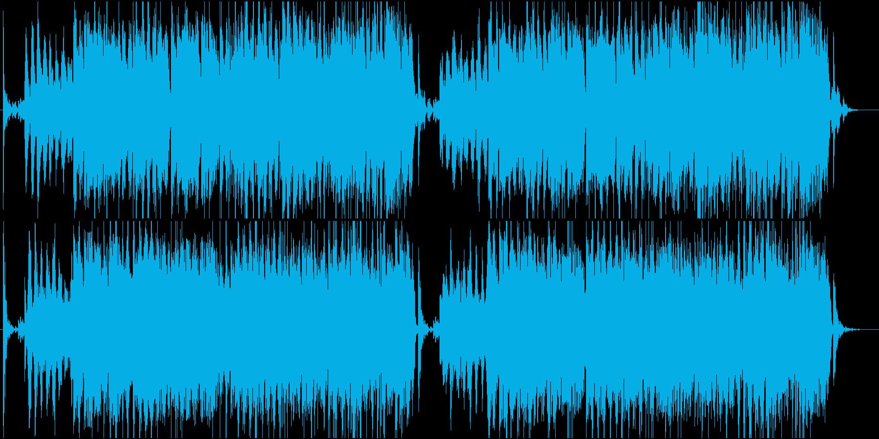 メロトロンのひびきの再生済みの波形