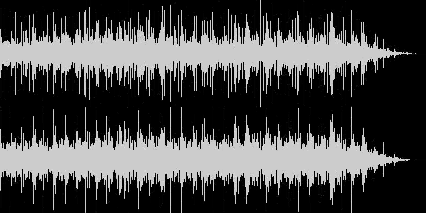 アコギとピアノの軽快なラテン系音楽の未再生の波形