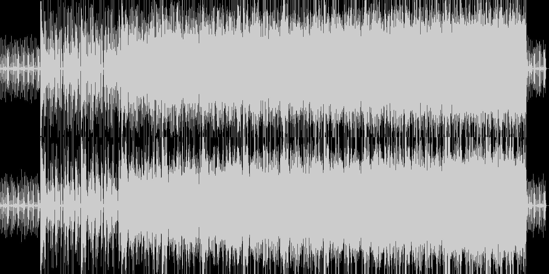 ゲームで使える不思議なBGMの未再生の波形