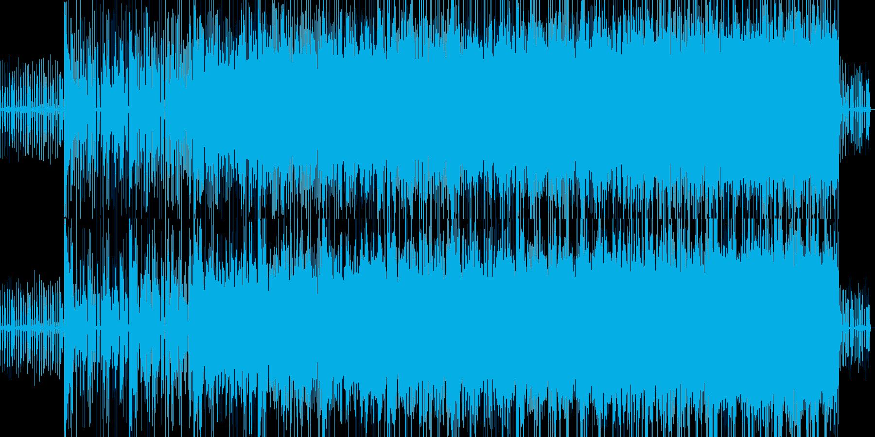 ゲームで使える不思議なBGMの再生済みの波形