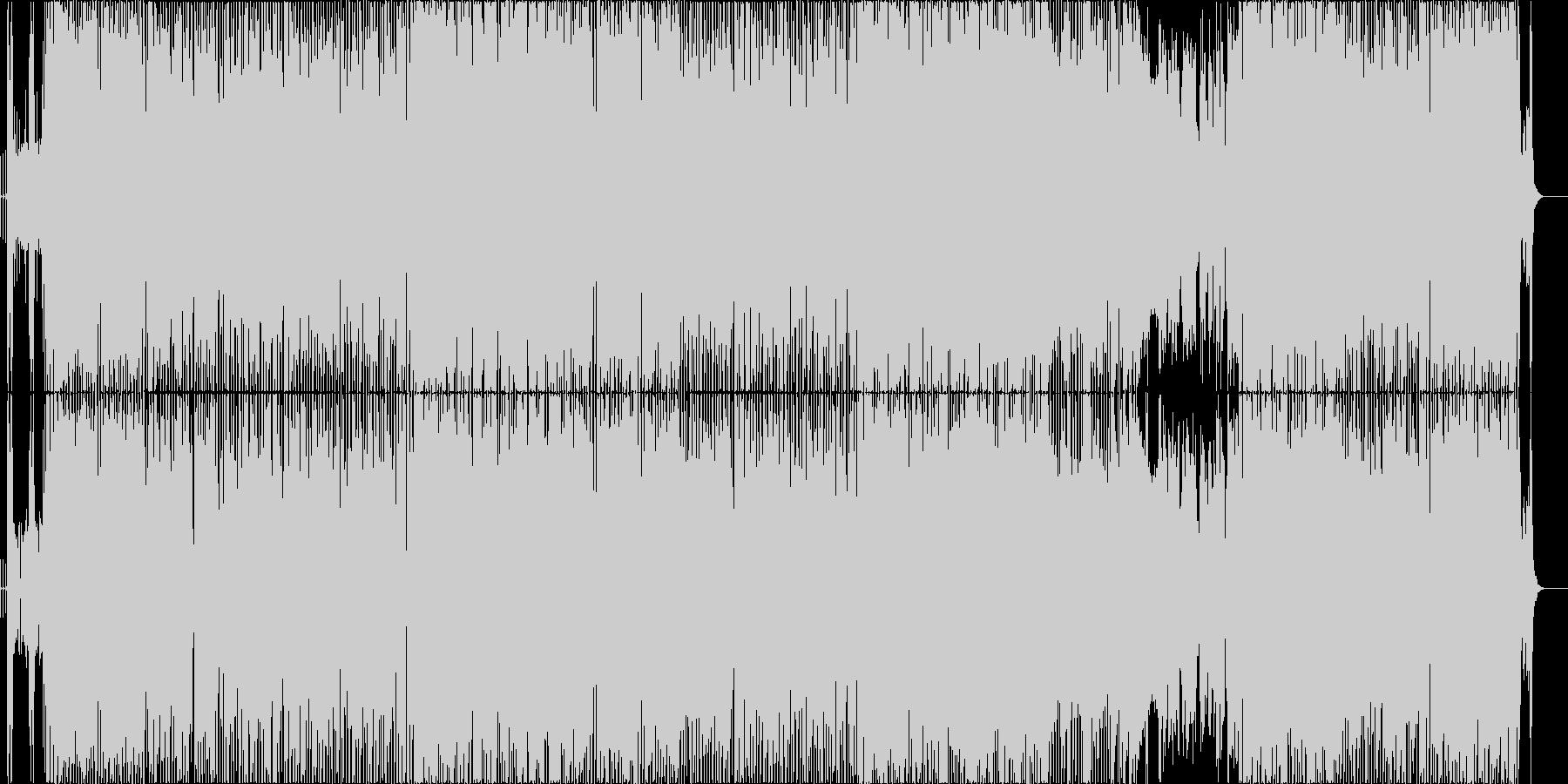 アニメ主題歌風の元気なエレクトロポップの未再生の波形