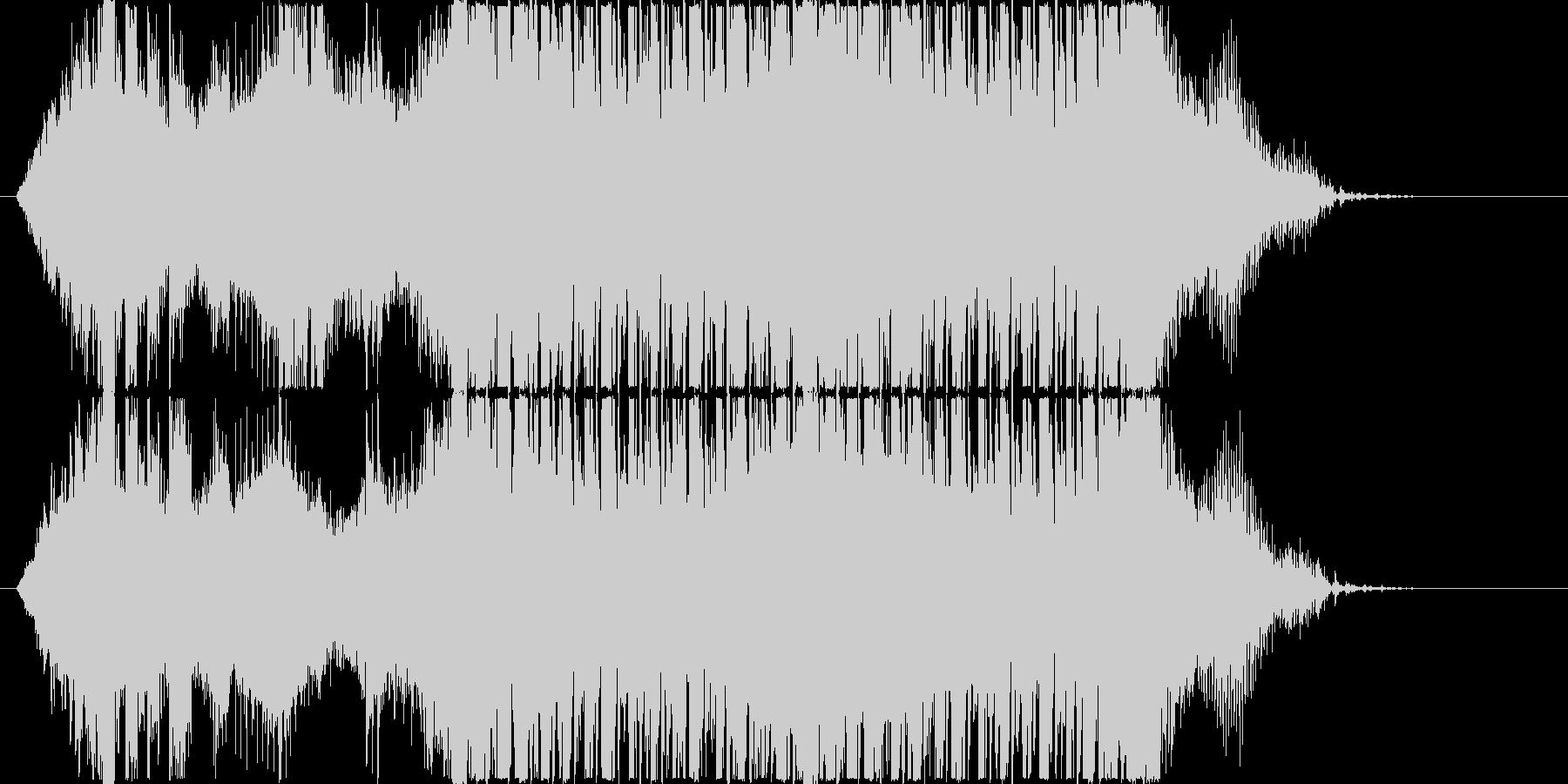 スタイリッシュでかわいいエレクトロの未再生の波形