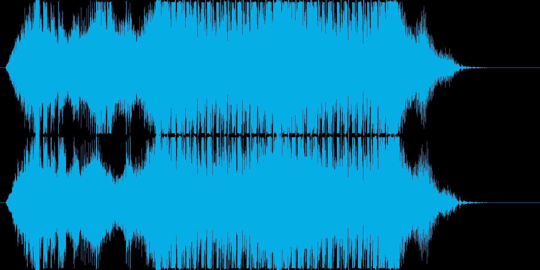 スタイリッシュでかわいいエレクトロの再生済みの波形