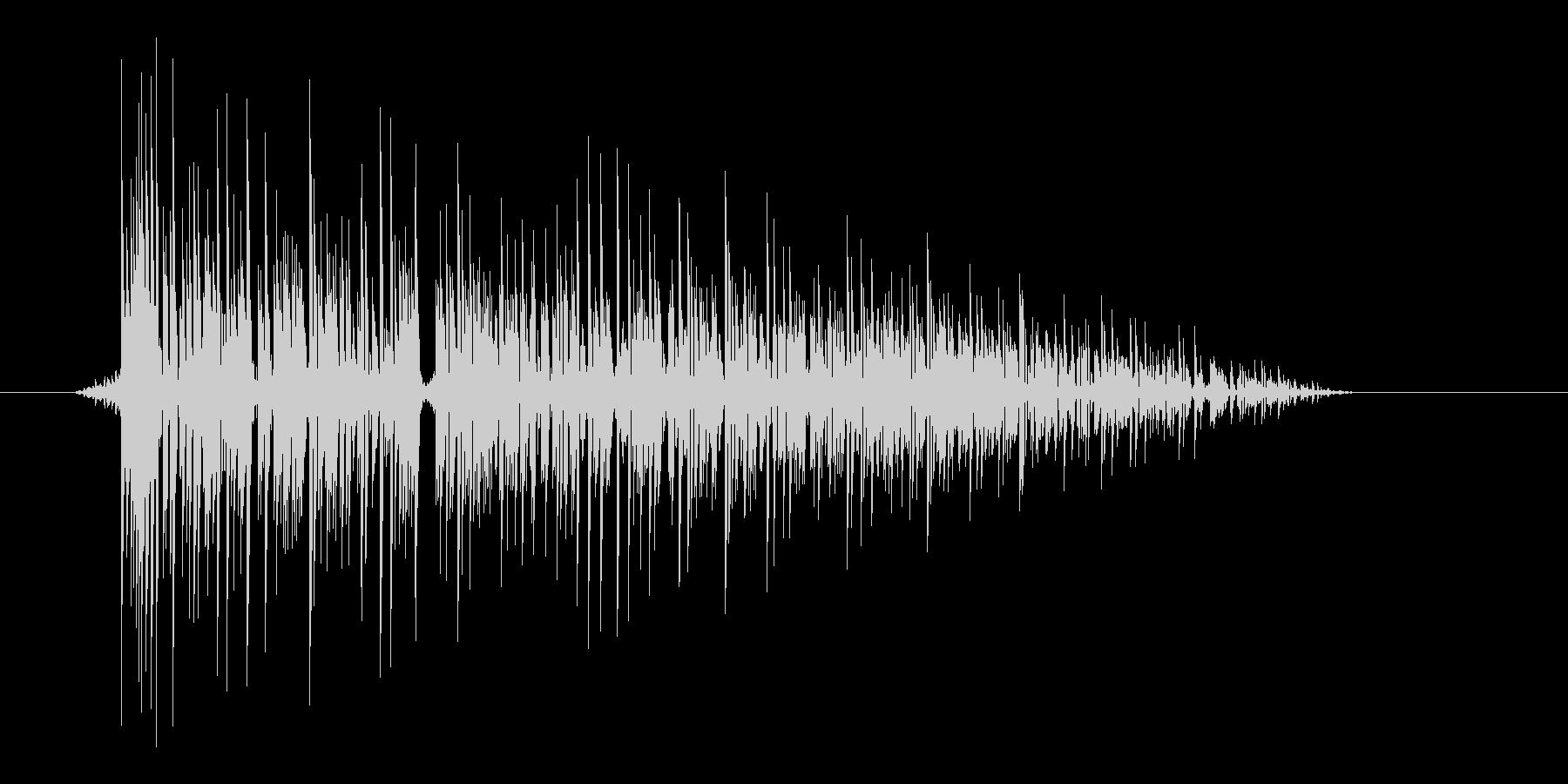 ゲーム(ファミコン風)爆発音_027の未再生の波形