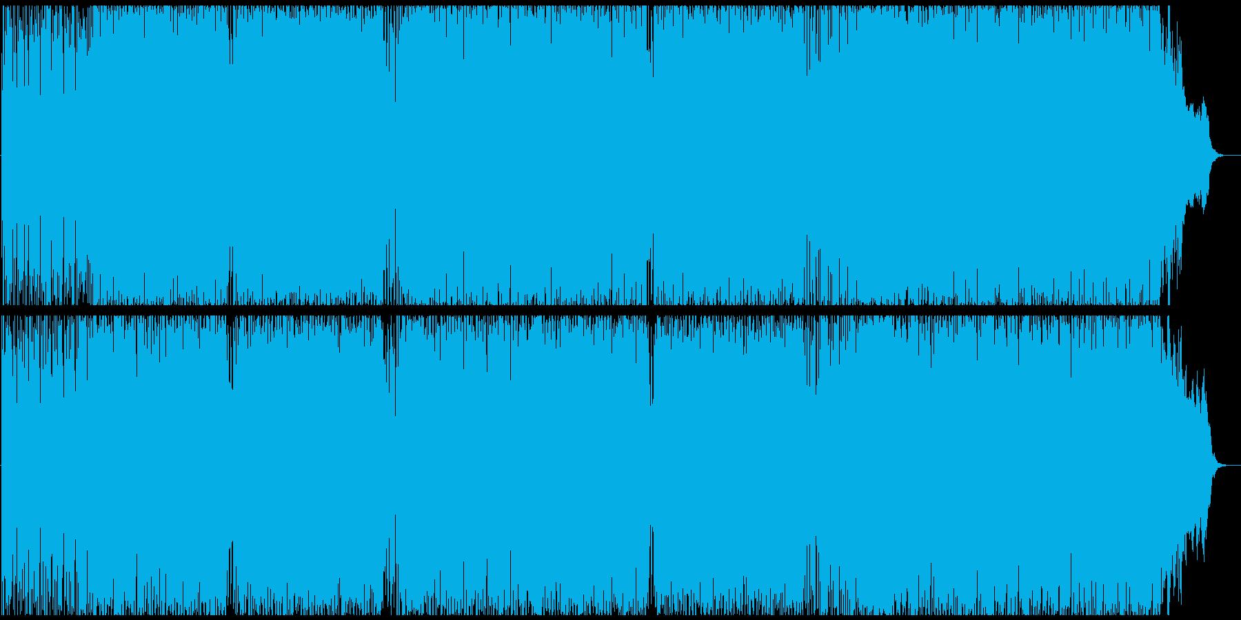 ピアノとブラスが絡むワクワクするインストの再生済みの波形