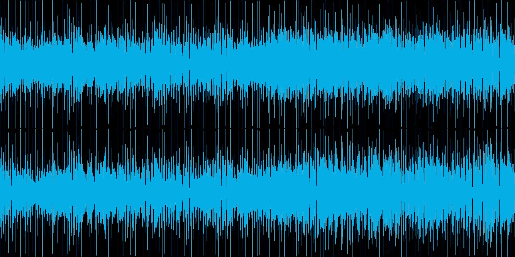 おしゃれな雰囲気のミドルバラードの再生済みの波形